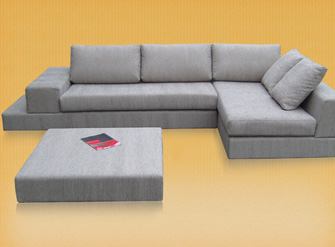 Plat Modular Lounge with Ottoman
